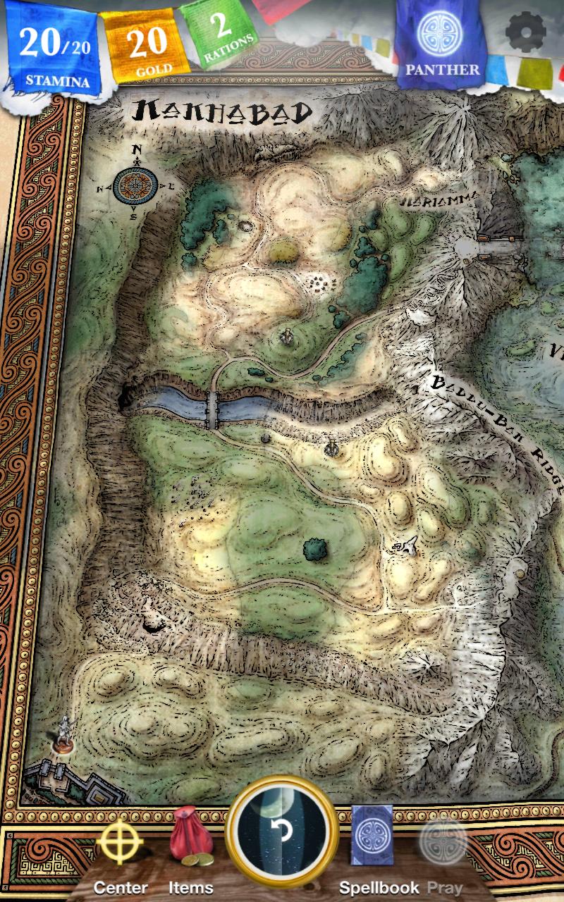 Sorcery! 3 screenshot #1