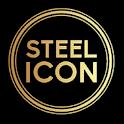 New HD Steel Iconpack theme Pro icon