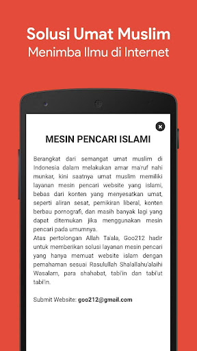 Goo212 - Mesin Pencari Islami for PC