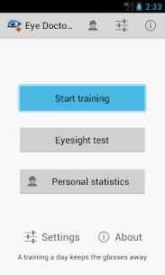 Eye Doctor Trainer – Exercises to Improve eyesight 1.05 Mod APK Updated 1