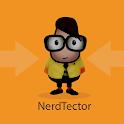 Nerdtector: a nerd detector icon