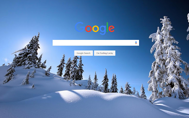 Backgrounds every day chrome web store - Winter theme chrome ...