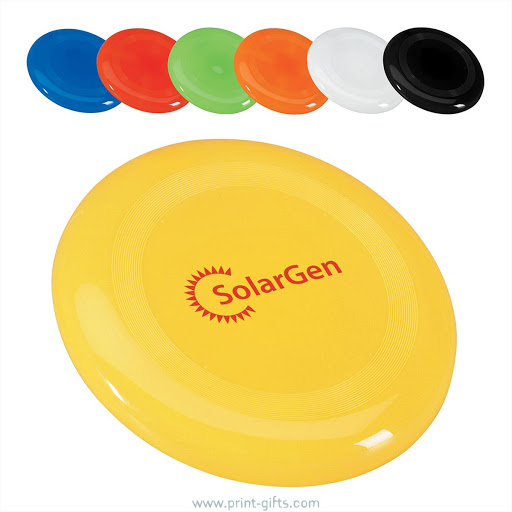 Frisbees Printed in Full Colour
