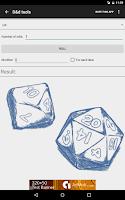 Screenshot of D&d Tools