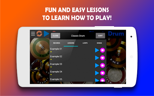 Classic Drum - The best way to learn drums! 6.7 Screenshots 3