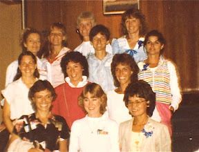 Photo: Olympia, WA 1983, pioneer women runners, Nike event one year before first Olympic Marathon Trials