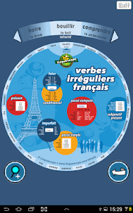 Verb Wheel : French- screenshot thumbnail
