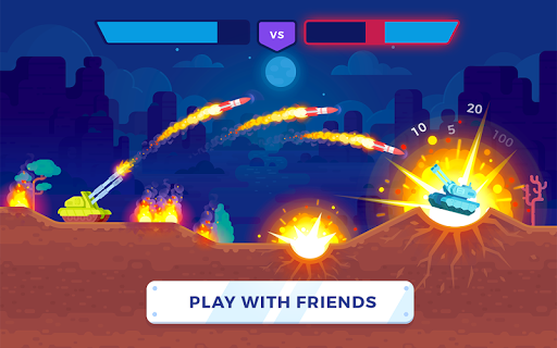 Screenshot for Tank Stars in United States Play Store