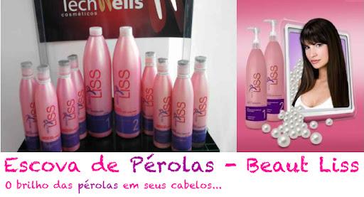 Escova de Pérolas Beauty Liss