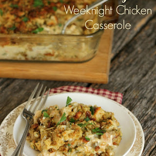 Creamy Weeknight Chicken Casserole