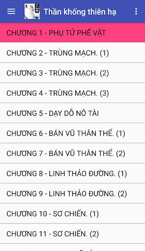 Than khong thien ha Truyen tien hiep full offline 2.7 screenshots 1