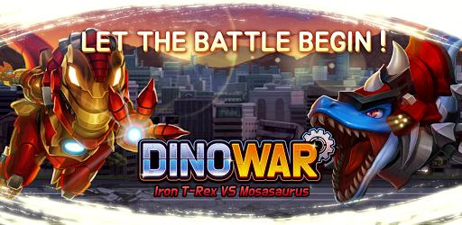 Dino War Iron T-Rex VS Mosa 0.1.6 screenshots 1