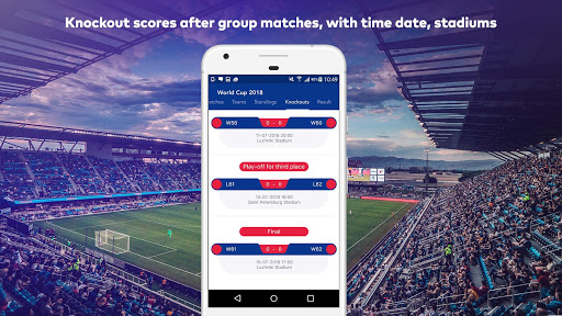 World Cup 2018 in Russia - Live Score, Match, News 6.0 screenshots 6