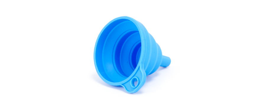 Silicone Funnel for Resin 3D Printing