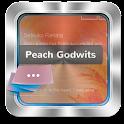 Peach Godwits GO SMS icon