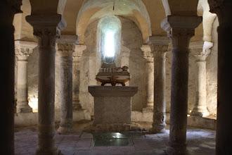 Photo: J24 : Champdieu, crypte de l'église