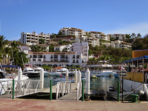 Photo: The marina at Santa Cruise was the start of our 7 bays cruise.