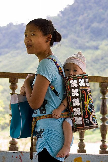 Babywearing in other cultures