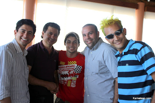 Fausto Augusto (Diretor Executivo), Arione Diniz, Garoto Mídia, Marcos  Regadas e Péricles Cintra 41334b4041