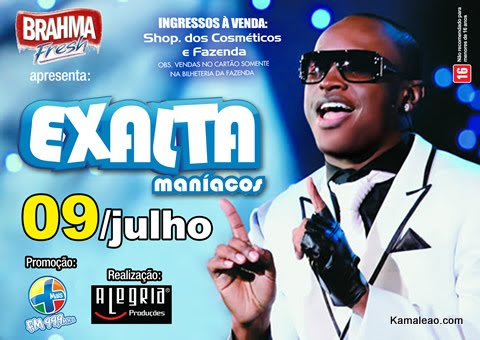 dvd do exaltasamba 2011
