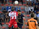 Le Mouscronnois Frantzdy Pierrot a inscrit deux buts avec Haïti