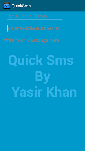 Quick Sms - Send Multiple Sms