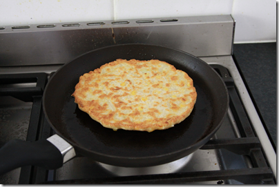 Okonomikyaki Recipe (Japanese vegetable pancake)