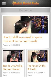 Rabbi David Pinto- screenshot thumbnail
