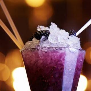 Blackberry Darkness Cocktail.