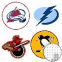 Hockey Logo Color By Number - Pixel Art icon
