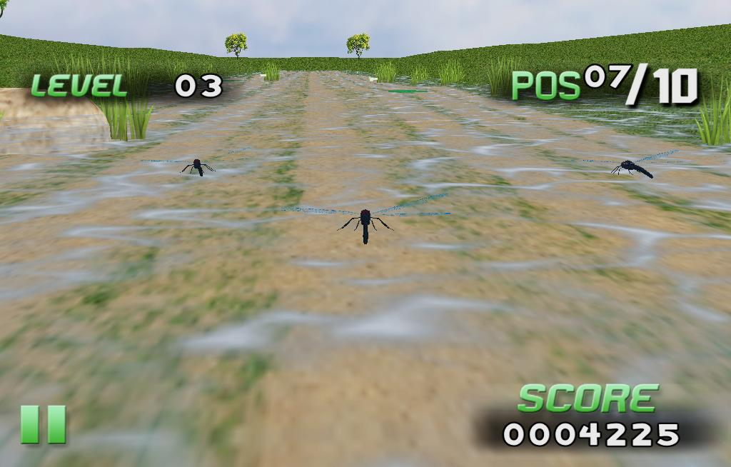 Insect Race- screenshot