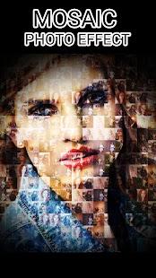 Mosaic Photo Collage Effect - náhled