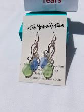 Photo: Sea Glass Earrings by The Mermaid's Tears http://themermaidstears.com/