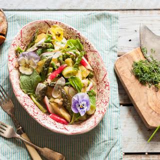 Warm Potato and Asparagus Salad.