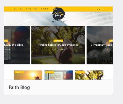 Faith-blog-wordpress-theme
