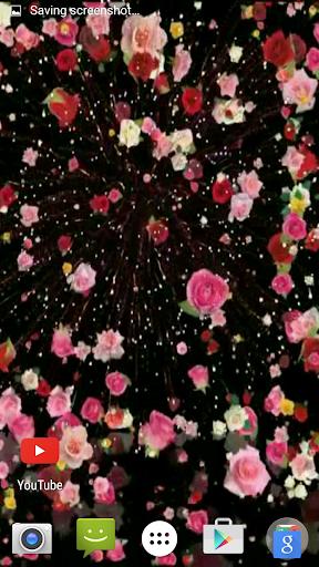 Night Fireworks Video Wallpape
