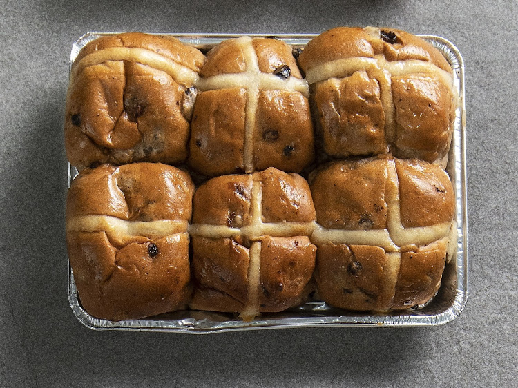 Checkers Traditional Hot Cross Buns.