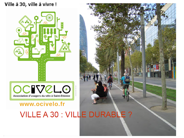 ville à 30, ville durable !
