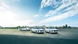 El Hyundai oniq  es uno de los modelos disponibles.