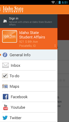 Idaho State Student Affairs