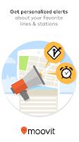 Screenshot of Moovit: Next Bus & Train Info