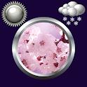 Sakura Clock Weather Widget icon