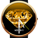 Diamond Animated 3D WatchFace icon