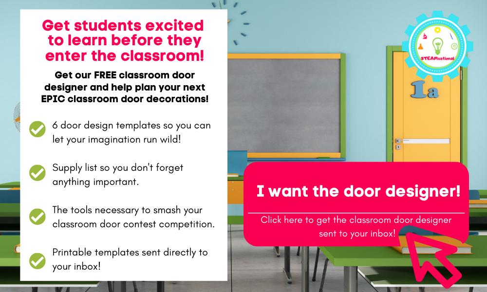 classroom door decoration designer
