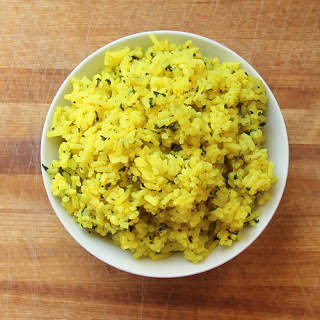 Spicy Yellow Rice.