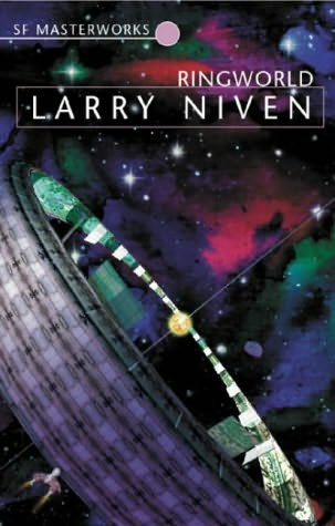 Portada original de «Mundo Anillo» (Larry Niven)