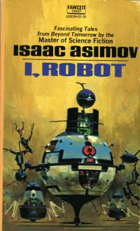 Portada original de «Yo, Robot» (I. Asimov)