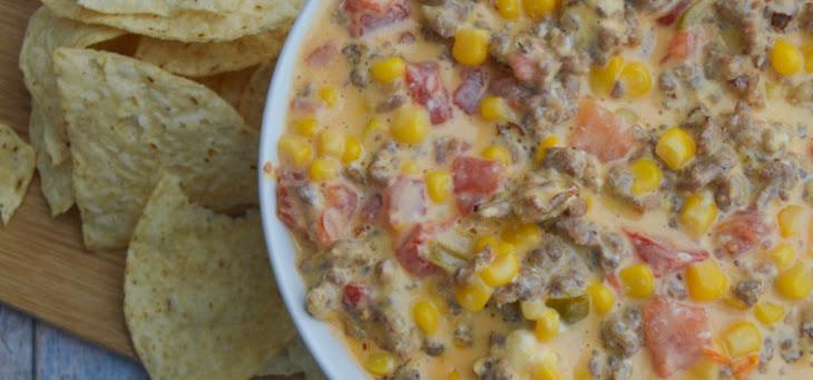 Cheesy Sausage Dip Recipe