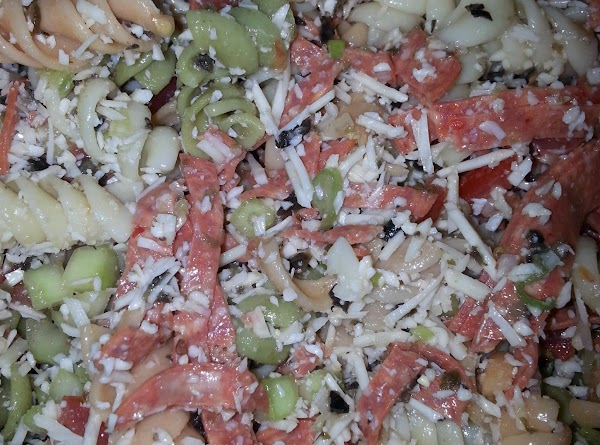 Family's Favorite Pasta Salad Recipe