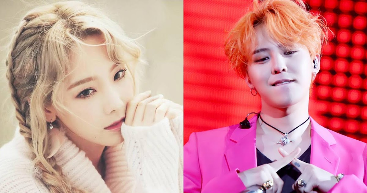g dragon and taeyeon dating 2016